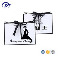 Customized Printed Gift Packaging Boutique Paper Bag