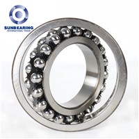 1214 Double Row Self-Aligning Ball Bearing 70*125*24mm SUNBEARING