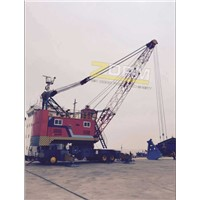 Mobile Electric Hydraulic Tire Crane for Sale