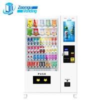 Zoomgu Touch Screen Canned Drinks Casheless Vending Machine
