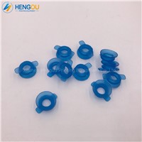 100 Pieces Blue Quality Rubber Suckers Heidelberg Rubber Sucker for Gto, Offset Printing Machinery Parts 42.016.073