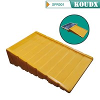 KOUDX Poly Spill Pallet Ramp for DRUMS