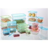 Clear Plastic Ultra-Thin Food Storage Container Sets with Variety Size