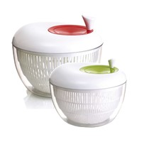 Plastic Vegetable Dryer Large Salad Spinner with Apple Shape