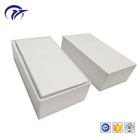Pure White No Printing Hard Board Handmade Phone Packaging Paper Box Apply for iPhone