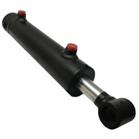 High Quality Double Acting Steering Loader Hydraulic RAM Cylinder with Pin for Forklift/Platform