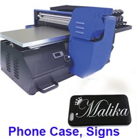 UV Flatbed Inkjet Printer for Phone Case, Signs