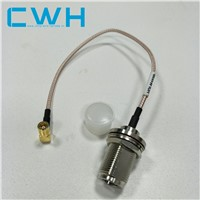 Watertight Submersible Casing Wire Harness Wire Jumper SMA to N-K Female Connector Electronic Cable Assembly