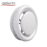 Plastic Ceiling Difusser White ABS