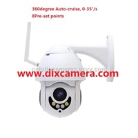 1080P 2Mp Water-Proof Mini 2.5inch 4x Optical Zoom Smart Wireless & Wired both Support PTZ Speed Dome Camera Max. 128G