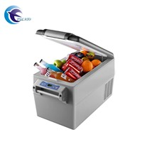 35L Popular Camping Fridge Portable Mini Car Freezer Compressor Refrigerator with LED Light 12V