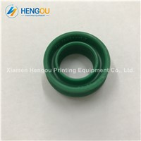 5 Pieces High Quality Heidelberg Cylinder Seal, Heidelberg Cylinder Valve Seal 16x26x10.7mm Green Rubber Piston