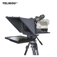 TELIKOU TF-17 17inch Foldable Easy to Carry Teleprompter