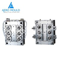 High-Efficiency 6-Cavity PET Preform Injection Mold