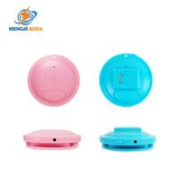 Mini Badge GPS Tracker for Kids & Elderly with Long Standby Time