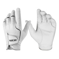 OEM ODM Outdoor Men Women Cabretta Leather Golf Gloves Manufacturer