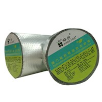 High Quality Self-Adhesive Aluminium Lamination Butyl Tape Caulk with Waterproof & Sealing Performance On the Surface