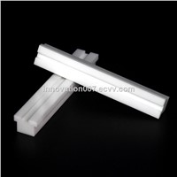 2019 Custom High Purity Fine Polished White Zirconia Ceramic Block