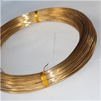 Factory Supply Free Samples Brass Gas Welding Wires Brass Brazing Rod SW221 RBCuZn40 HS221copper Zinc Wire