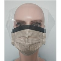 Disposable 3-Ply Face Mask with Shield/Face Mask/Nonwoven Face Mask/Face Shield