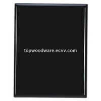 Black Glossy Piano Finsh Square Corner Awards Wooden Plaque