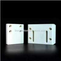Custom CNC Machining High Strength Wear-Resistant 95% 99% Alumina Ceramic Plate Ceramic Fixture