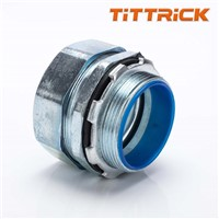 Tittrick Metal Flexible Conduit Adaptor Hexagonal Joint High Quality Zinc Alloy