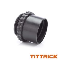Tittrick Nylon Flexible Conduit Adaptor Black
