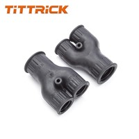 Connector Gland Nylon Flexible Conduit Adaptor Y-Shaped