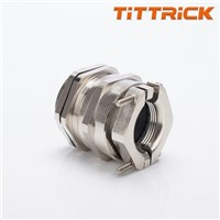 Tittrick Metal Flexible Conduit Cable Gland Double Lock