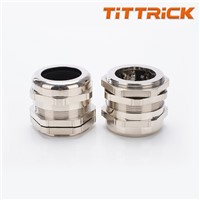 Tittrick Metal Flexible Conduit Cable Gland Quick Fix Connection
