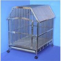 Stainless Steel Dog Cage - SD2809---L90 * W70 * H99