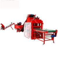 Automatic Interlocking Compressed Earth Clay Brick Making Machine