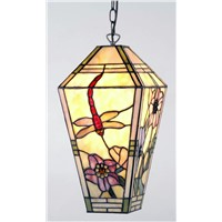 "10"" Lantern Stained Glass Lamp (W 18*37cm)"