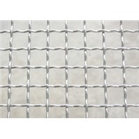 Galvanized Steel Crimped Mesh, Crimped Wire Mesh