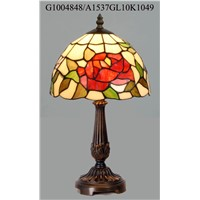 "8"" Color Glass Mini Table Lamp (Dia. 20*39cm)"