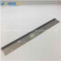 10 Pieces Heidelberg Printing Cleaning Sheet 500x60x0.5mm 5 Holes Wash up Blade for GTO46 Machine 42.010.180