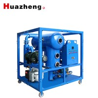 6000 Liters/H Double- Stage Vacuum Transformer Oil Purifier