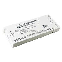 Ultra-Thin Plastic Case Constant Voltage 12V/24V 60w LED Driver for Cabinet