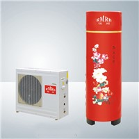 House Use Split Type Air Source Heat Pump Water Heater High Efficiency 3-7.3kw Heating Supply