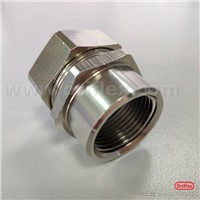 Brass Flex Conduit Fittings-Nickel Plated/Straight Female