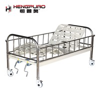 Nursing Bed Manufacturer Care Manual Hospital Bed with Adjustable Frame