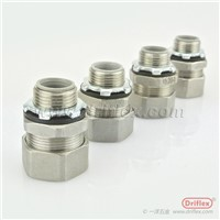 Stainless Steel 304/316 Electrical Wiring Protection Straight Fitting