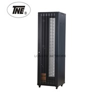 "19"" Cabinet with Arc Wave Perforated Door from 12u to 47u"
