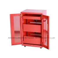 19inch Charging Cabinet Network Server Cabinet for Laptop In Public Place