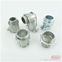 Electrical Wiring Protection Zinc Die Casting EMT Flexible Metal Conduit Connector EMT Coupling