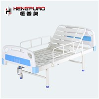 Cheap Medical Care Manual Adjustable Standard Size Hospital Bed for Elderly