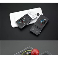 Portable MP3 Player with Metal Keys Student Walkman Recordable FM Radio with Variable Speed