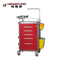 Equipment Patient Nursing Quality New Type Medical Trolley for Hospital Use