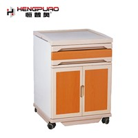 Medical Bedside Table Cabinet Locker Night Stand ABS Hospital Cabinet for Sale